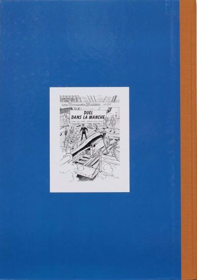Dos Les tuniques Bleues - tirage de tête tome 37 - Duel dans la Manche