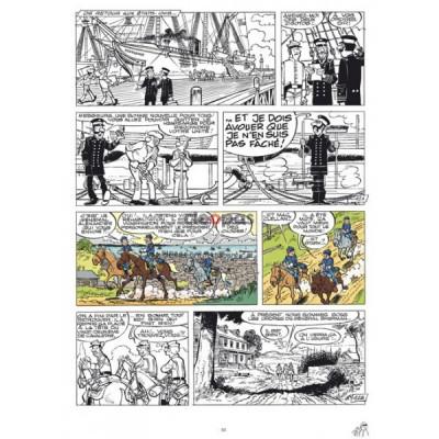 Page 1 Les tuniques Bleues - tirage de tête tome 37 - Duel dans la Manche