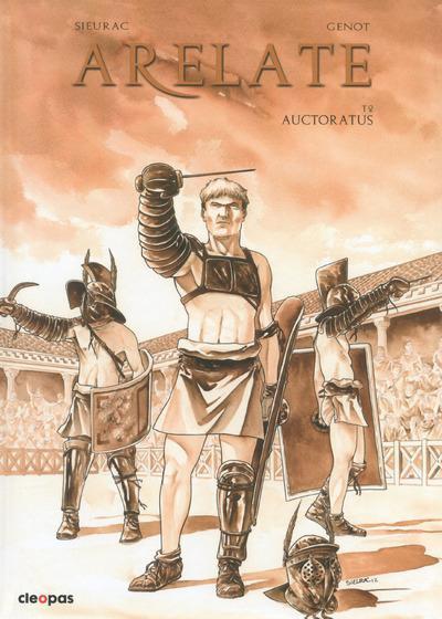 Couverture Arelate T.2 - Autocratus