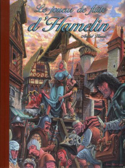 Couverture Le joueur de flûte d'Hamelin