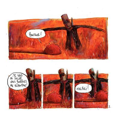 Page 5 rouge tome 1 - l'ogre qui mangeait les petits enfants