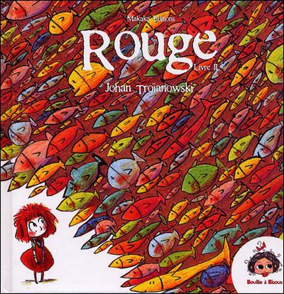 Couverture rouge tome 2 - le carnaval aquatique