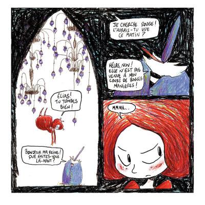 Page 5 rouge tome 2 - le carnaval aquatique