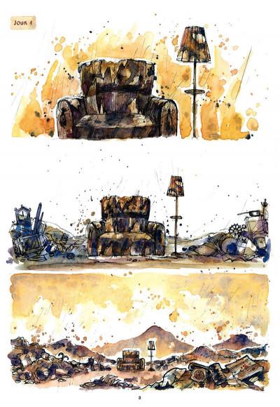 Page 4 le cirque ; journal d'un dompteur de chaises