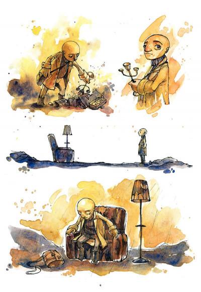Page 5 le cirque ; journal d'un dompteur de chaises