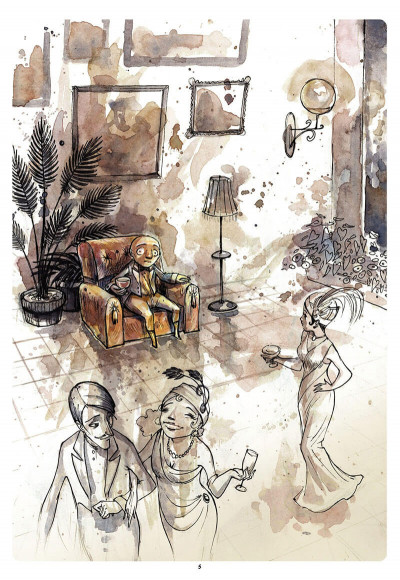 Page 6 le cirque ; journal d'un dompteur de chaises