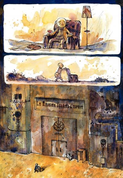 Page 7 le cirque ; journal d'un dompteur de chaises