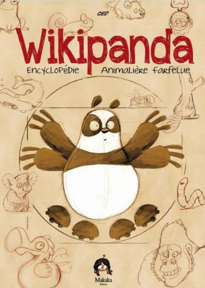Couverture wikipanda ; encyclopédie animalière farfelue