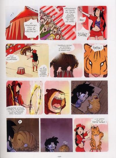 Page 1 Sylvaine tome 1 - itinéraire d'une enfant pauvre