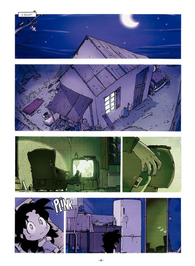 Page 4 Sylvaine tome 1 - itinéraire d'une enfant pauvre