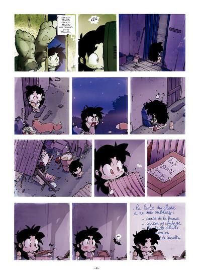 Page 5 Sylvaine tome 1 - itinéraire d'une enfant pauvre