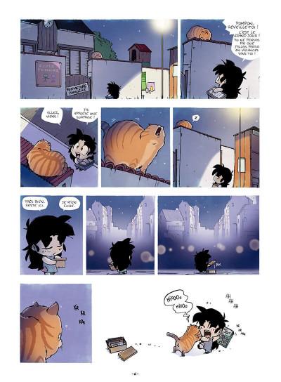 Page 7 Sylvaine tome 1 - itinéraire d'une enfant pauvre