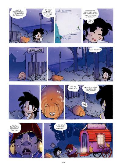 Page 8 Sylvaine tome 1 - itinéraire d'une enfant pauvre