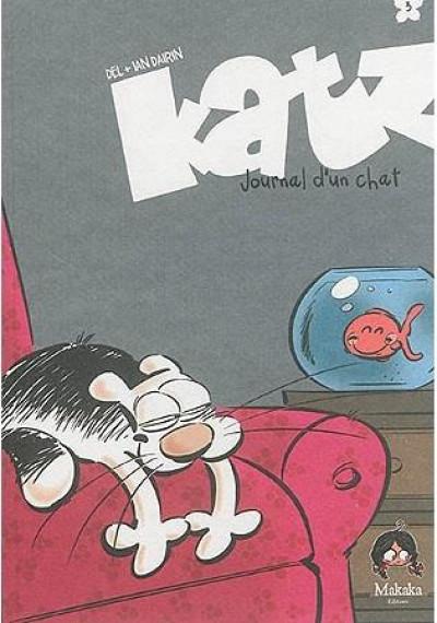 Couverture Katz - journal d'un chat T.3