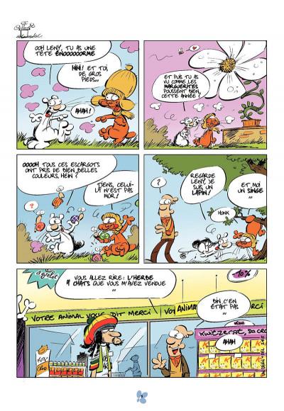 Page 8 Katz - journal d'un chat T.3