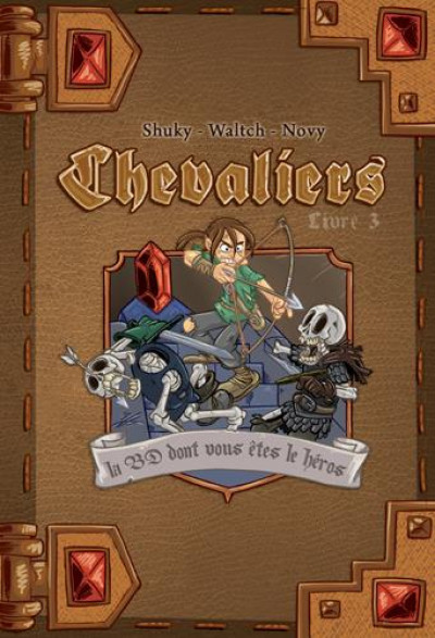 Couverture Chevaliers tome 3