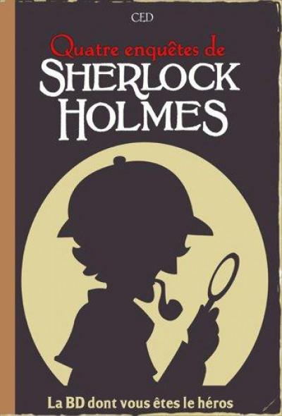 Couverture quatre enquêtes de Sherlock Holmes
