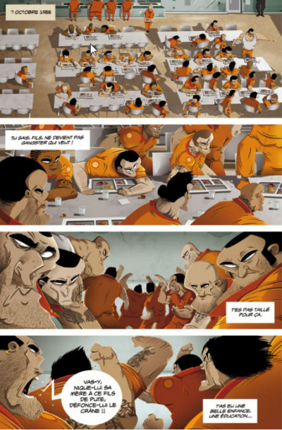 Page 1 Hold-up - journal d'un braqueur tome 2