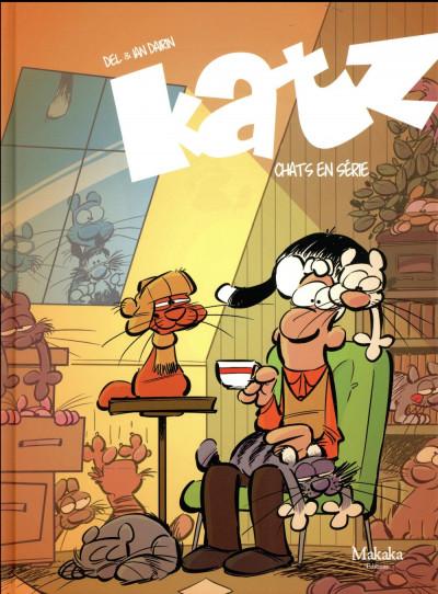 Couverture Katz - Journal d'un chat tome 5