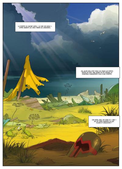 Page 1 Féréus le fléau - Le fortin du ponant