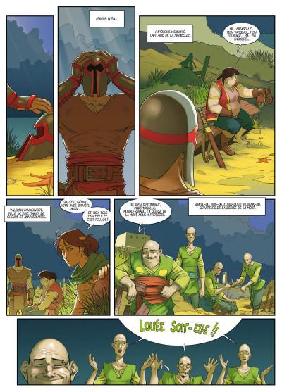 Page 2 Féréus le fléau - Le fortin du ponant
