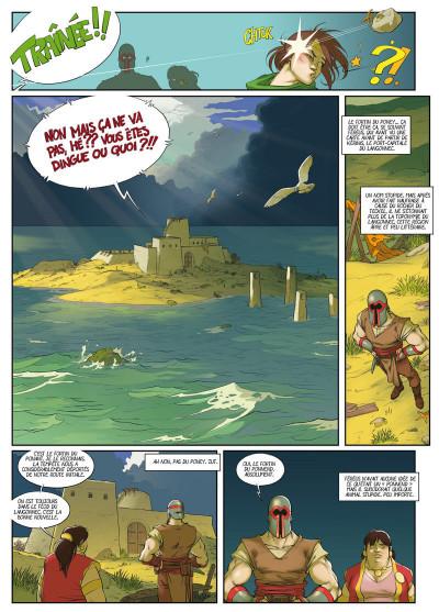 Page 3 Féréus le fléau - Le fortin du ponant