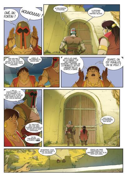 Page 5 Féréus le fléau - Le fortin du ponant