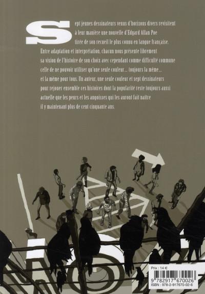 Dos edgar allan poe ; histoires fantastiques