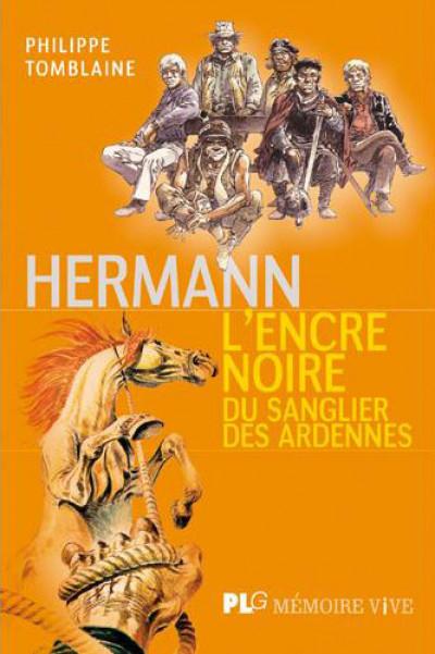 Couverture Hermann, l'encre noire du sanglier des Ardennes