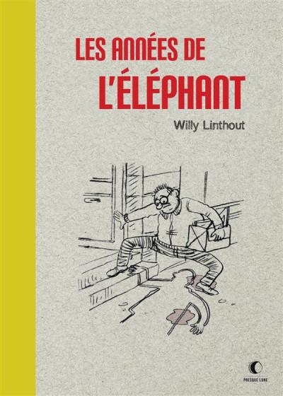Couverture Les années de l'éléphant