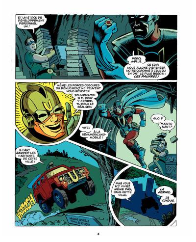 Page 7 Les aventures d'ultra-chômeur