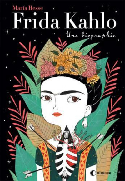Couverture Frida Kalho, une biographie