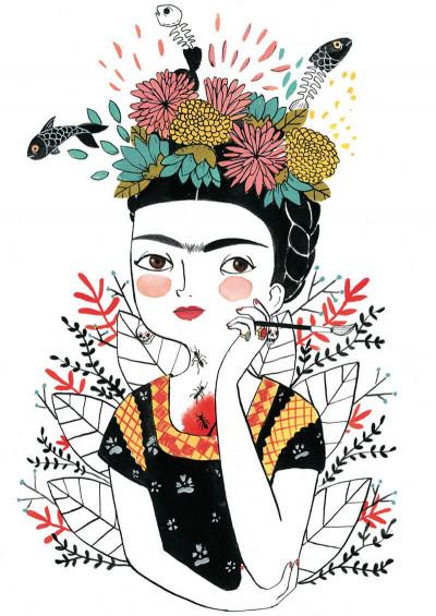 Page 9 Frida Kalho, une biographie