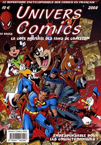 Couverture univers comics ; 2008