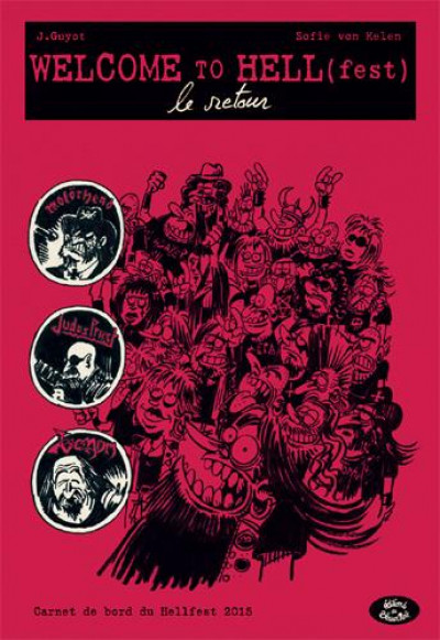 Couverture Welcome to Hell(fest) tome 2
