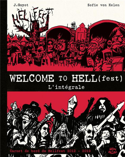 Couverture Welcome to Hell(fest) - intégrale