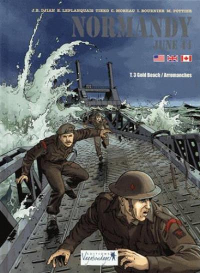 Couverture Normandie, juin 44 tome 3 - Gold Beach - Arromanches