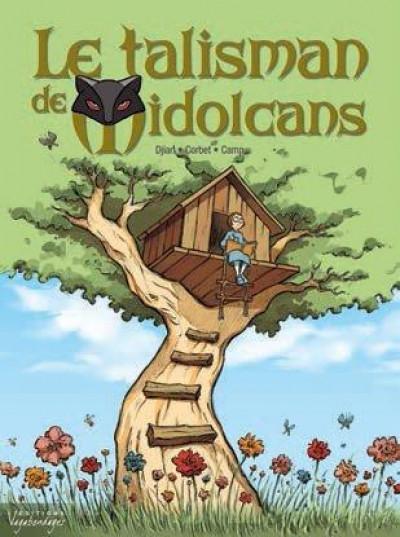 Couverture le talisman de Midolcans tome 1 - Geneviève Tomate