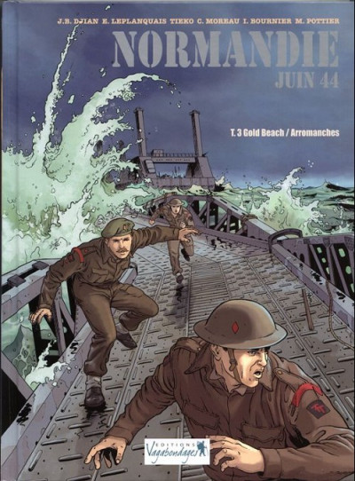 image de Normandie juin 44 tome 3 - gold Beach - Arromanches (édition 2014)