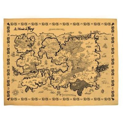 Page 2 lanfeust de troy ; carte du monde de troy