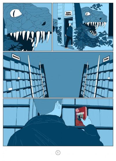 Page 1 l'autre côté ; histoire d'une psychose