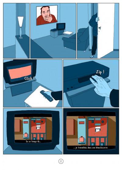Page 2 l'autre côté ; histoire d'une psychose