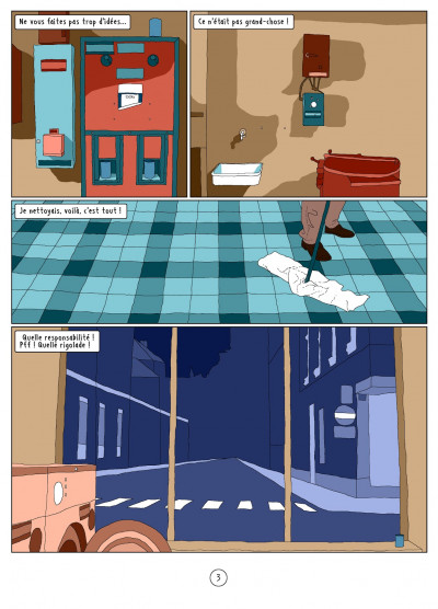 Page 3 l'autre côté ; histoire d'une psychose
