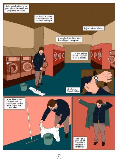 Page 4 l'autre côté ; histoire d'une psychose