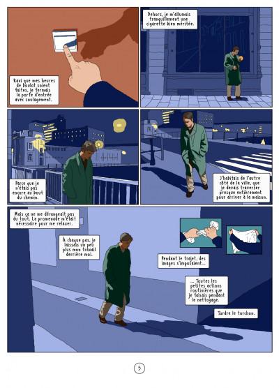 Page 5 l'autre côté ; histoire d'une psychose