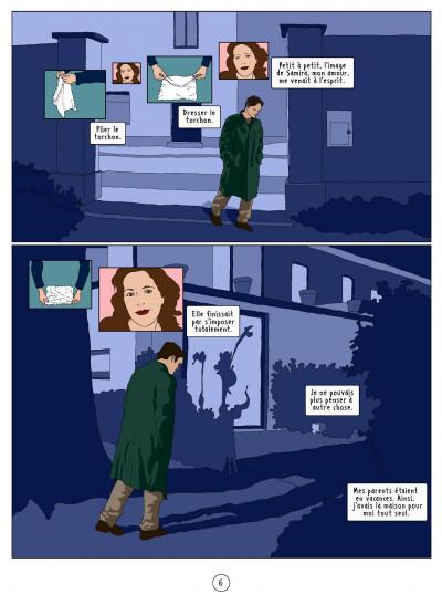Page 6 l'autre côté ; histoire d'une psychose