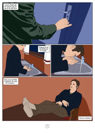 Page 7 l'autre côté ; histoire d'une psychose