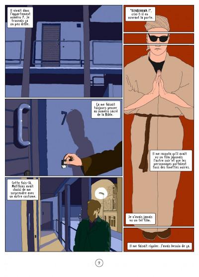 Page 9 l'autre côté ; histoire d'une psychose