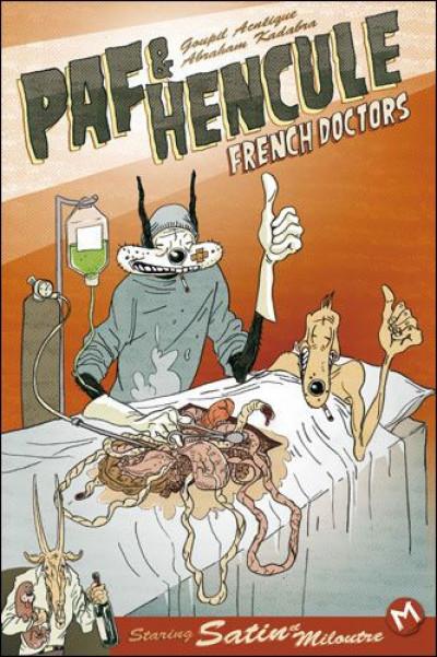 Couverture Paf et Hencule ; french doctors