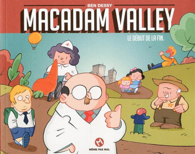 Couverture Macadam valley tome 1
